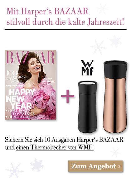 HARPER'S BAZAAR - Angebot zur kalten Jahreszeit!