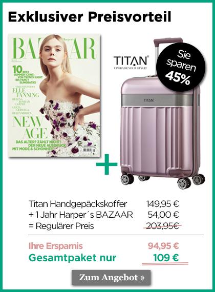 StickyAd - Harpers Bazaar - Exklusiver Preisvorteil
