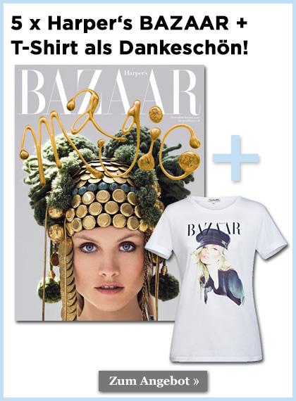 Harper's BAZAAR T-Shirt als Dankeschön