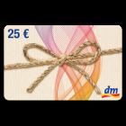 25 € dm-drogerie Gutschein