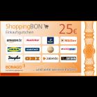 25 € ShoppingBon