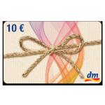 10 € dm-drogerie Gutschein